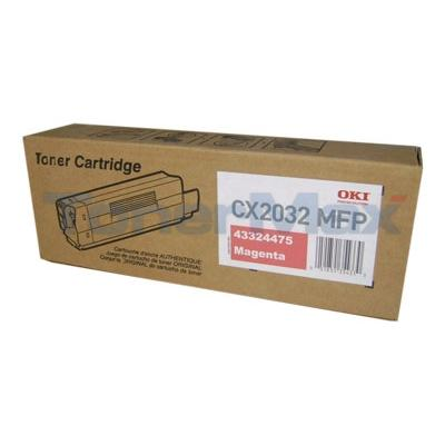 OKI CX2032 MFP TONER CARTRIDGE MAGENTA